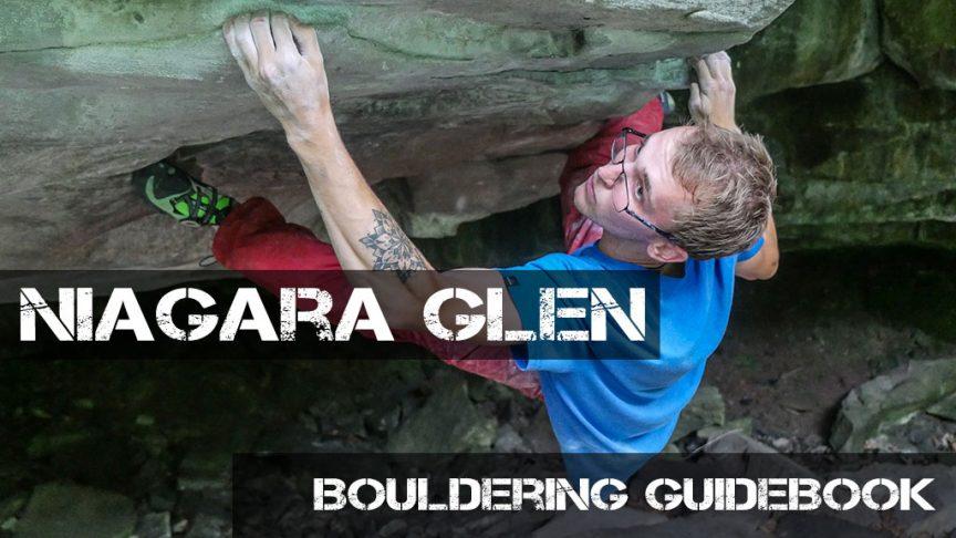 Niagara Glen Bouldering Guidebook Kickstarter